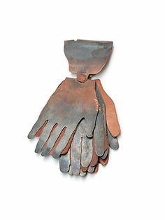Iris Eichenberg Chatelaine: 2007.00.18 2007 Copper, leather 15,1 x 6,5 x 2,0 cm
