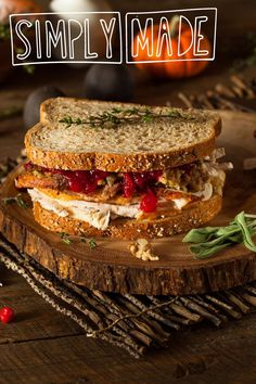 5 Creative Ways to Put Those Thanksgiving Leftovers to Good Use Thanksgiving Leftovers, Thanksgiving Recipes, Holiday Recipes, Holiday Meals, Leftover Wine, Leftover Turkey, Cold Sandwiches, Turkey Sandwiches, Breakfast Lunch Dinner