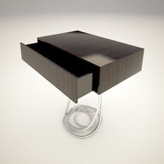 Most often I'm happy to admire good design from a distance.. but this table would be fantastic as my man drawer!