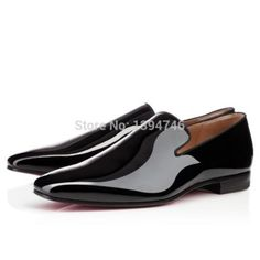 New Arrived Red Bottoms Loafers Genuine Leather Mens Shoes Business Shoes Casual Oxfords Gentlemen Dress Designer Shoes