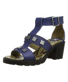 Look at this #zulilyfind! Ocean Clin Leather Sandal - Women #zulilyfinds