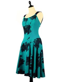 Superbe Robe de Tango | Gorgeous Tango Dress by IRYNA Créations. Made in France. #robe #tango #argentin #dance # #dress #latin