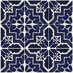 """""""Marruecos #2"""" • Talavera Tile • La Fuente"""