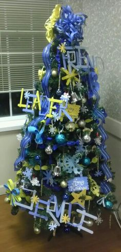 Omega Phi Alpha tree -	Mu Chapter MTSU <3  So proud to be a part of this chapter and sorority.