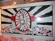 Graf Modern Art, Contemporary Art, Shop Windows, Graffiti Artists, Visual Merchandising, Kenzo, Street Art, Abstract Art, October