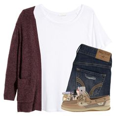 """""""seeing jumonji tommorow"""" by arielforlife ❤ liked on Polyvore featuring H&M, Hollister Co., Fresh, tarte, Bobbi Brown Cosmetics and Sperry Cute Outfits For School, Cute Summer Outfits, Fall Winter Outfits, Outfits For Teens, Spring Outfits, Outfits 2016, Preppy Outfits, Preppy Style, Classy Outfits"""