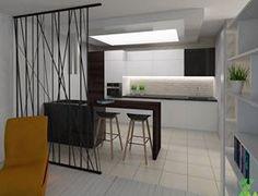 interior render: kitchen