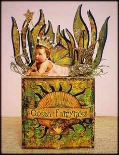 *Ocean FairyTales* Fairy Block by Azurée (VintageGypsy on Flickr)