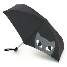 Cat umbrella by Lulu Guiness - 30 Totally Amazing Umbrellas To Get You Through The Rainy Days