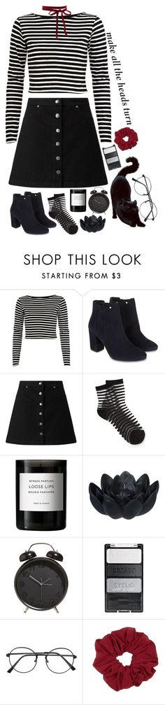 """//•Stay out of the blue•\\"" by my-happy-little-pill ❤ liked on Polyvore featuring River Island, Monsoon, Miss Selfridge, Byredo and Sia"