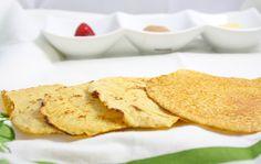 Low carb tortillas - chickpea flour