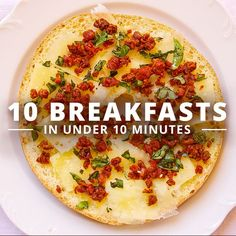 Got time for breakfast? Of course you do, especially when the recipe ideas are as simple as these 10 breakfasts in under 10 minutes. #breakfasts #cleaneatingbreakfast #healthyrecipes