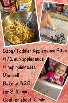 Applesauce bites