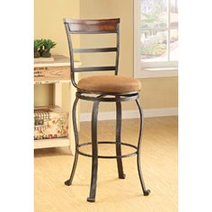 @Overstock - Swivel Beige Bar Chair (Set of 2) - Give your home or office an upgrade with this cool swivel bar chair set. This furniture can elevate the look and feel of any interior space.  http://www.overstock.com/Home-Garden/Swivel-Beige-Bar-Chair-Set-of-2/6774355/product.html?CID=214117 $158.99
