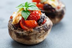 Fun Fact: Canada grows more than 200 million pounds of mushrooms annually, harvested year-round! Use them to create stuffed mushrooms, like these, or our savoury mushroom medley: http://www.becel.ca/en/becel/HeartHealthyRecipes/Side-Dishes/Savoury-Mushroom-Medley.aspx