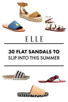 Whilst I will in all probability be buried in Birkenstocks, that does not imply there are not different choices for flat shoes this season. From turn flops which might be ​if truth be told ​sublime (we swear!) to vintage gladiators that by no means move out of fashion, listed below are 30 flat sandals to put on all summer season lengthy.​