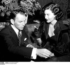 Frank Sinatra and Ava Gardner in Sweden, June 1953, at the nadir of his career, and the apex of hers.