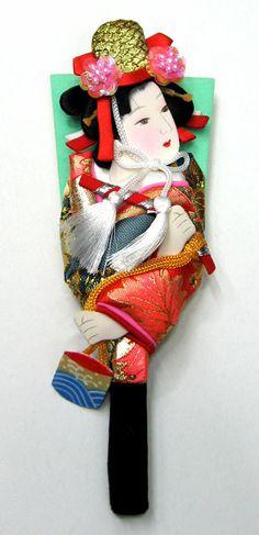 歌舞伎羽子板 汐汲