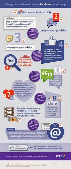 10 ways to make the most of your #facebook business page