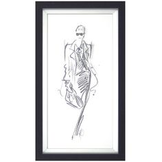 City Chic III By Jane Hartley ($56) ❤ liked on Polyvore featuring home, home decor, wall art, black, black and white home decor, framed wall art, black home decor and black and white figurines