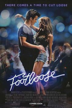 Footloose on DVD March 2012 starring Julianne Hough, Dennis Quaid, Kenny Wormald, Miles Teller. Ren MacCormack (played by newcomer Kenny Wormald) is transplanted from Boston to the small southern town of Bomont where he experiences a he Footloose Remake, Footloose 2011, Footloose Dance, Footloose Original, Trailer 2, Chick Flicks, Movie Posters, Rock Music