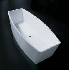 Lucia Matt Black A123 Black Freestanding Stone Bath Size W 1700 Mesmerizing Acs Designer Bathrooms Decorating Design