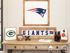 Our NFL line has the perfect decorations to complete your Sports Room or Man Cave. This collection also has many great gifts for that sports fan in your life!