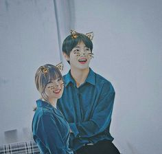 Omggg i did it again 😂 im sorry im dying i love this kitty stuff somuch 😂😂🙏 . Jimin, Bts, Ailee, Girl Couple, Ulzzang Couple, G Friend, My Youth, Kpop Aesthetic, Best Couple