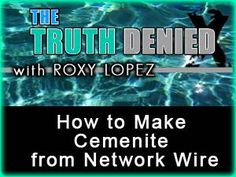 How to make cemenite from network wire