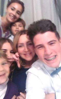 #Selfie familiar con los más pequeños.