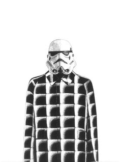 StormTrooper wearing Balenciaga Fall 2015 Collection