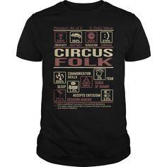 Awesome Tee  CIRCUS FOLK T shirts #tee #tshirt #named tshirt #hobbie tshirts #Circus