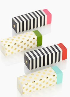 ~Kate Spade erasers make great stocking stuffers | The House of Beccaria#