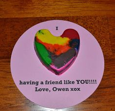 East Coast Mommy: Recycled Crayon Valentines
