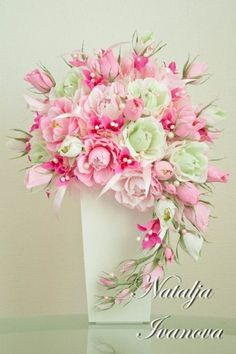 Букеты и цветы из гофрированной бумаги.Мастер-кл   ВКонтакте