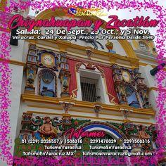 Vamos de #compras a #Chignahuapan y #Zacatlán Este 24 de septiembre, 1 y 29 de octubre y 5 de noviembre saliendo de #Veracruz #Cardel y #Xalapa  ¡ Reserva Tu Lugar YA !  Más información en: Tels: 01 (229) 202 65 57 y 150 83 16  WhatsApp: 2291476029 y 2291508316 Email / Hangouts: turismoenveracruz@gmail.com http://www.turismoenveracruz.mx/2017/08/vamos-de-compras-a-chignahuapan-y-zacatlan-este-2017/