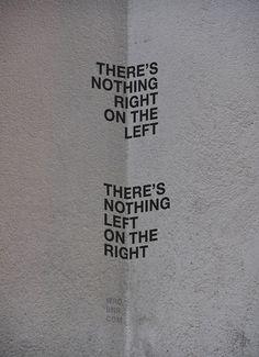 Left, Right, Corner