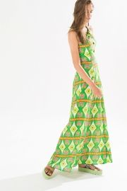 vestido longo torcido titalina