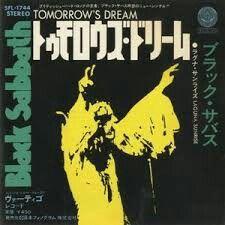 Black Sabbath-Tomorrow's dream (Japan)