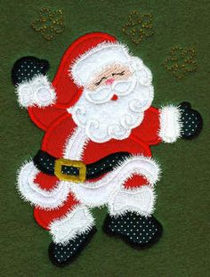 Sew Many Designs Dancing Santa Applique by SewManyDesignsShop, $3.75