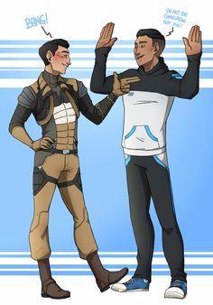 """We're the galactic good guys"" : Photo Mass Effect Romance, Mass Effect 1, A Good Man, Video Games, Gay, Gaming, Ships, Fandoms, Fan Art"
