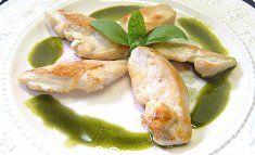 Chicken Saute with Matcha Butter Sauce