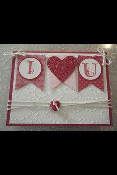 Stampin up Valentines day   Valentines
