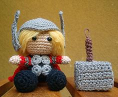 Make your own Pocket Thor | Over the Bifrost  Now you can re-create your own adorable epic battles!