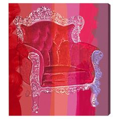 I pinned this Throne Love Affair Canvas Art from the Look: Spirited event at Joss and Main!