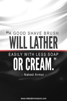 Our Sandalwood Swan Shaving Brush and Swedish Black Wood Shaving Brush can do precisely that. What's even more impressive is that both are badger-friendly, so no animals were killed to make them. Get one now by checking the link in our bio or going directly to our website at www.nakedarmorazors.com. #nakedarmor #wetshave #straightrazor #shavebrush #shavingbrush Shaving Tips, Shaving Brush, Wet Shaving, Razor Strop, Best Shave, Straight Razor, Badger, Black Wood, Get One
