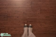 GreenClaimed's Cocoa Fossilized® Eucalyptus Flooring features a deep, exotic look and wood grain similar to dark walnut.