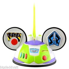 New Disney Parks Toy Story Buzz Lightyear Mickey Ear Hat Ornament Christmas Le | eBay