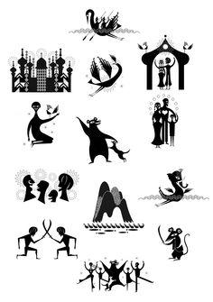 Haroun and Luka - Lesley Barnes Illustration