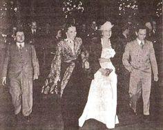 Joseph Goebbels, Magda Goebbels and Lida Baarova